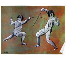 Fencing Poster