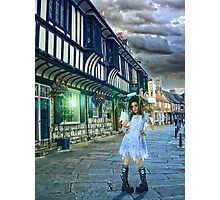 A Fallen Angel in York. Photographic Print