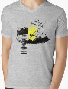 Stray Cat Mens V-Neck T-Shirt