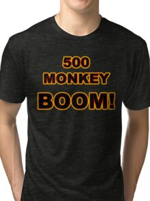 500 MONKEY BOOM! Tri-blend T-Shirt