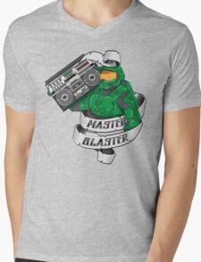 Master Blaster Mens V-Neck T-Shirt