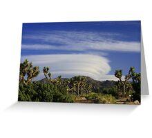 Clouds at Joshua Tree Greeting Card