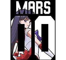 Sailor Mars Photographic Print