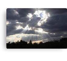 'Cos I see the light surrounding you' Canvas Print