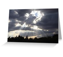 'Cos I see the light surrounding you' Greeting Card