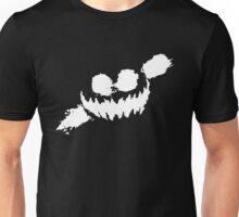Haunted Smile white Unisex T-Shirt