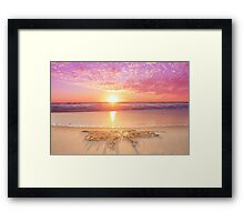 The Butterfly of Solace Framed Print