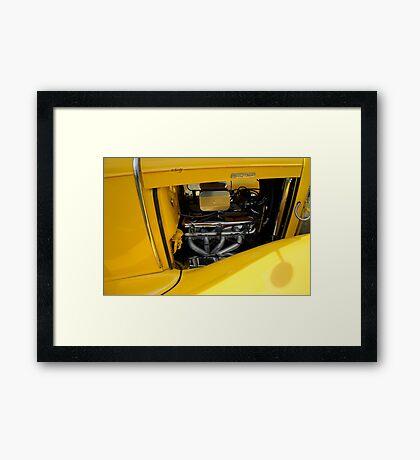 Yellow Power Framed Print