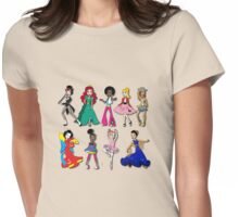 Dance - all across the world Womens Fitted T-Shirt