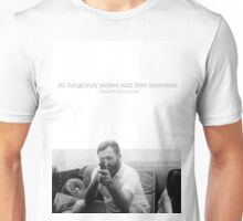 All Things Truly Wicked Start From Innocence - Hemingway Unisex T-Shirt