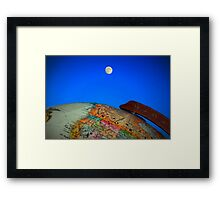 Shoot for the Moon Framed Print