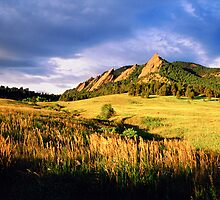 Summer At The Flatirons by Gregory J Summers