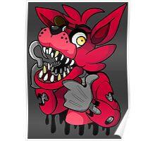Graffiti Foxy Poster