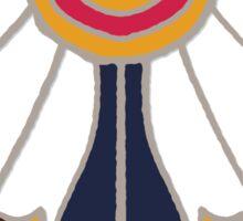 carousel damask Sticker