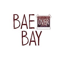Bae over Bay - Life Is Strange Photographic Print