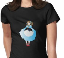 Twisted - Wizard of Oz Womens Fitted T-Shirt