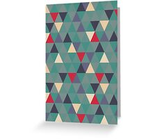 Sage triangles Greeting Card