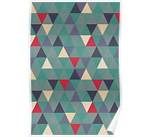 Sage triangles Poster