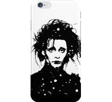 Edward Scissorhands - prints iPhone Case/Skin