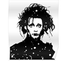 Edward Scissorhands - Tee and iPhone case Poster