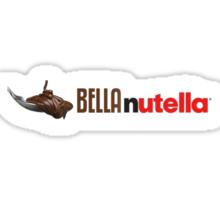 Bella Nutella Sticker