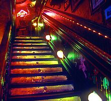 Many Colored Stairs by ©  Paul W. Faust
