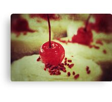 Cherry topper Canvas Print