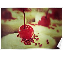 Cherry topper Poster