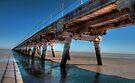Port Germein Jetty by Andrew Dickman