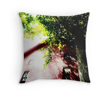 The Past Breaths Throw Pillow