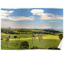 glasshouse mountains 2 Poster