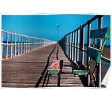 Jetty Bench Poster