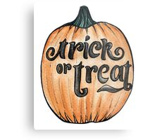 Trick or Treat? Metal Print