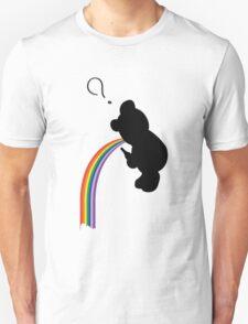 TEDDY RAINBOW VOMIT Unisex T-Shirt