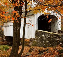 Loux Covered Bridge by Debra Fedchin