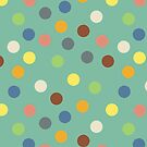 Hippy polka dots by Morag Anderson