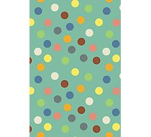 Hippy polka dots Photographic Print