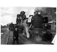 Goldfields Railway - Maldon VIC Poster