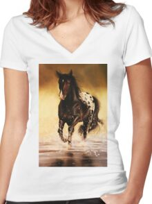 Appaloosa Women's Fitted V-Neck T-Shirt