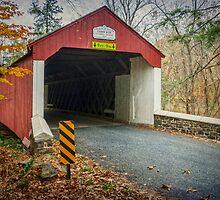 Cabin Run Covered Bridge by Debra Fedchin