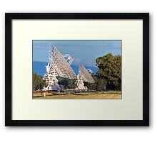 Australia Telescope Compact Array • Culgoora • New South Wales Framed Print