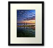 Sculpture by the Sea Framed Print