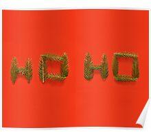 Christmas Cards - Ho ho - Fun Poster