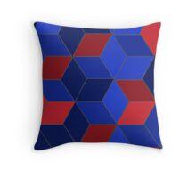 Abstract Box Design 322J Throw Pillow