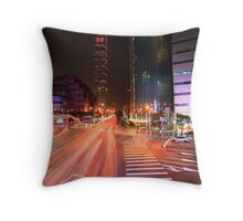 Taipei Flow Throw Pillow