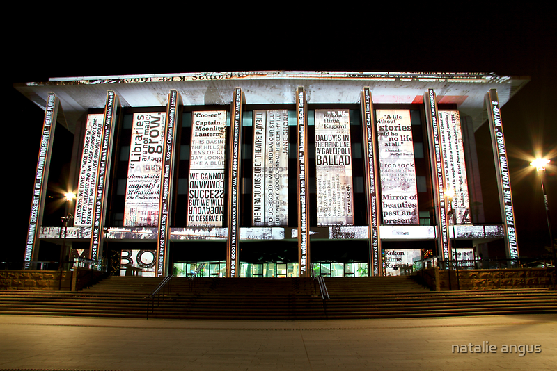 National Library of Australia by natalie angus