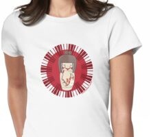 Kokeshi - Red Womens Fitted T-Shirt