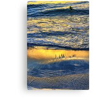 Shimmering Magically into the Evening Sun Canvas Print