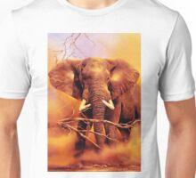 The African bush elephant (Loxodonta africana) Unisex T-Shirt