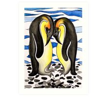 I Choose You ~ you are my penguin. Art Print